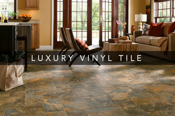 Luxury vinyl tile features some of the most innovative, versatile and high-performing flooring available.